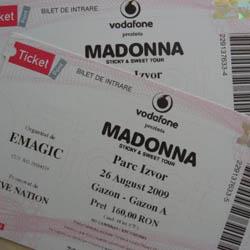 03 bilete madonna
