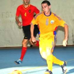 11 x 1 internationalul  Cosmin Gherman, de la fc deva, a fost cel mai bun jucator al Romaniei in partida a doua cu belgienii
