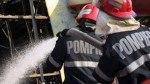 Incendiu, în Hunedoara, din cauza unei butelii