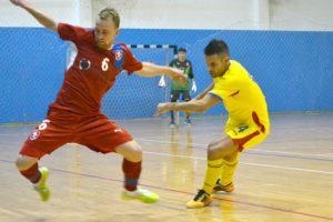 Şase deveni luptă pentru calificarea la  europeanul de futsal
