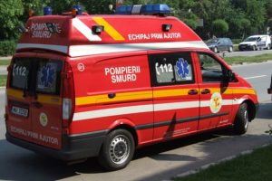 Minor accidentat de o ambulanţă SMURD