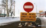 Drumuri judeţene închise pe perioada iernii