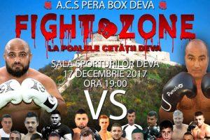 """Ring încins la poalele Cetăţii! Duminică are loc a doua ediţie """"Fight Zone""""!"""