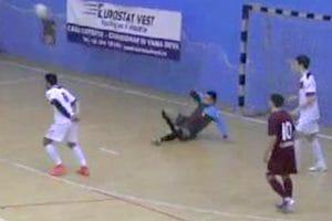 Futsal: România – Republica Moldova 6-4 (2-1)