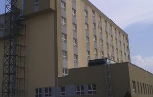 În sfârşit, clădirea nouă a spitalului judeţean a fost ocupată