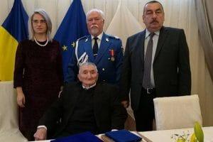 Veteranul de război Petru Nistorescu aniversează 100 de ani