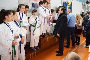Cupa oraşului Simeria la karate, o reuşită