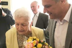 Cea mai vârstnică hunedoreancă, sărbătorită la 104 ani