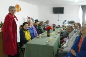 Mici bucurii pentru asistaţii social de la UAMS Baia de Criş
