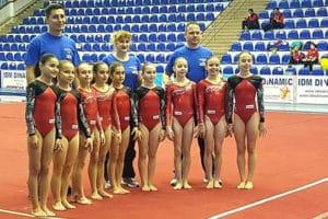 Gimnastele de la CNS Cetate Deva, pe podium la Buzău